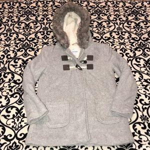 EUC Girls MD Old Navy Fleece Pea Coat